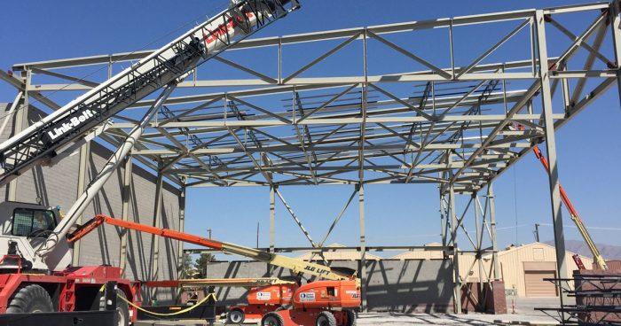Nellis Air Force Base F-35 Maintenance Hangar, Las Vegas, Nevada