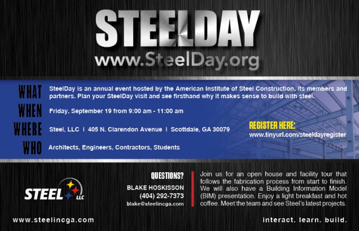 Steel Day Invitation 2014