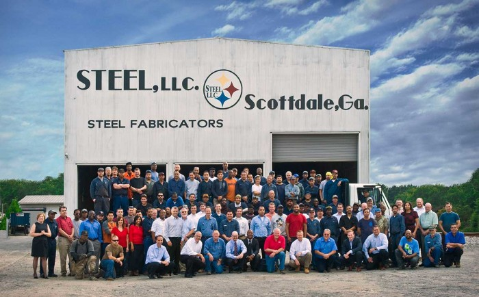 Steel Steam Group Photo