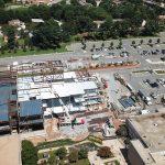 Montgomery College Student Center Aerial Photo Under Construction