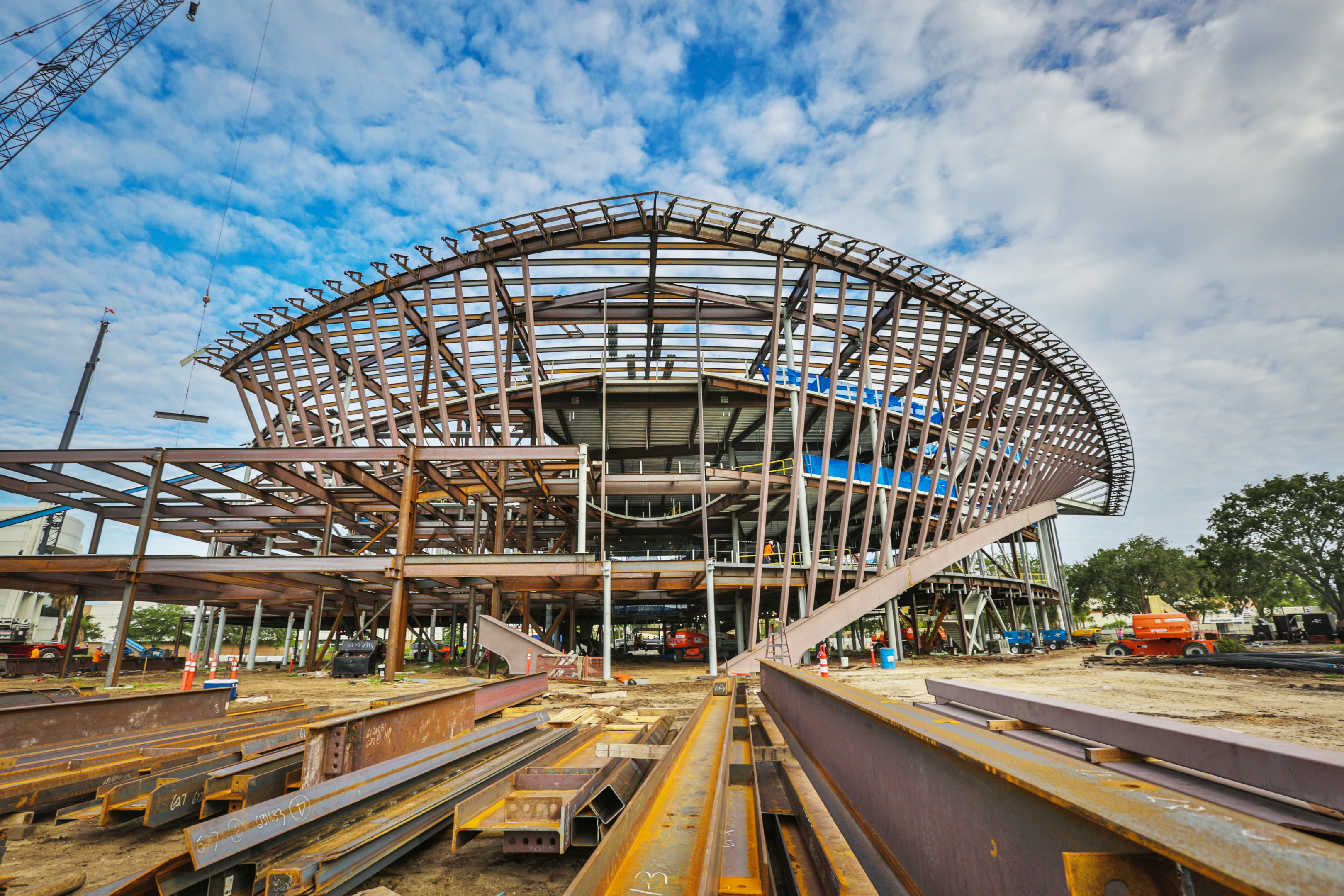 20170620 Student Union 1571 The New Under Construction At Embry Riddle Aeronautical University In Daytona Beach June 20 2017
