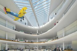 Embry Riddle University Student Union Interior rendering