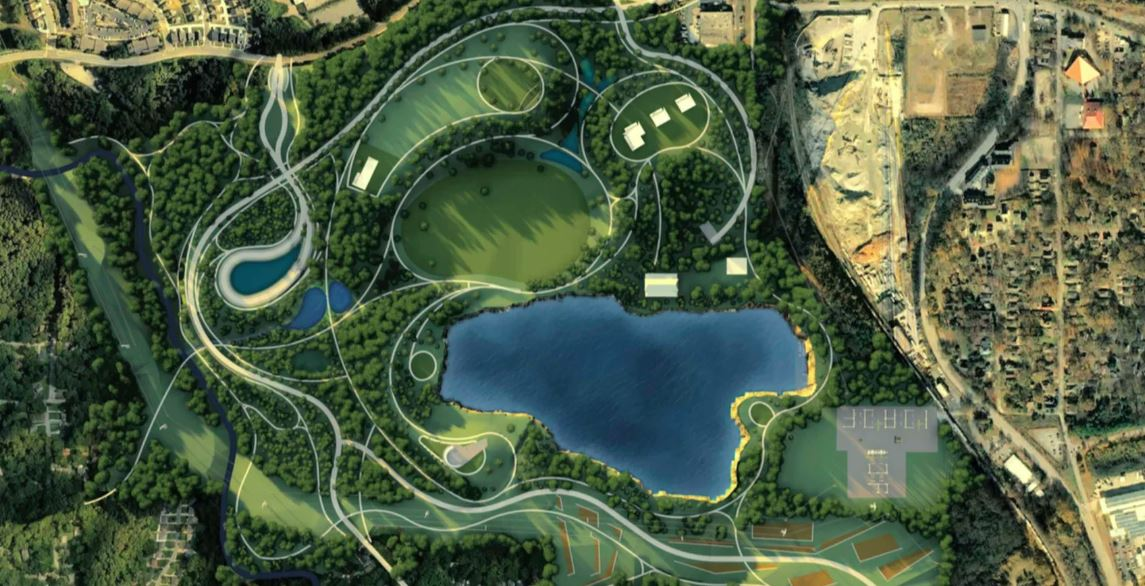 rendering of atlanta bellwood quarry